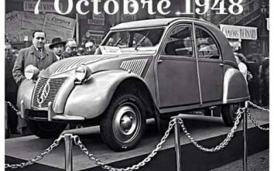 Happy Birthday Citroën 2CV!