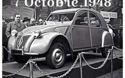 Gelukkige verjaardag Citroën 2CV!