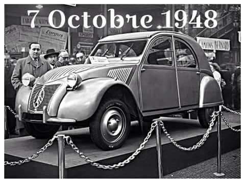 Happy Birthday Citroën 2CV!